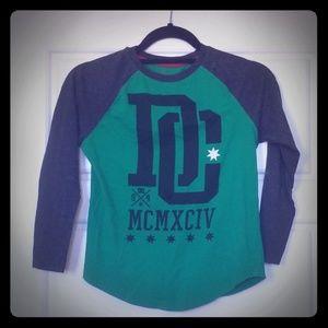 Boys DC Baseball Shirt